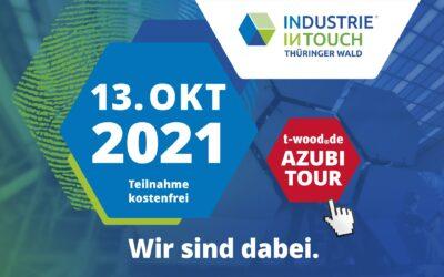 Industrie Intouch 2021: Wir sind dabei!